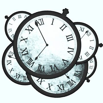Steins Gate Clocks by MaginStudios