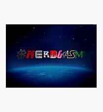 #NERDGASM sci-fi Photographic Print
