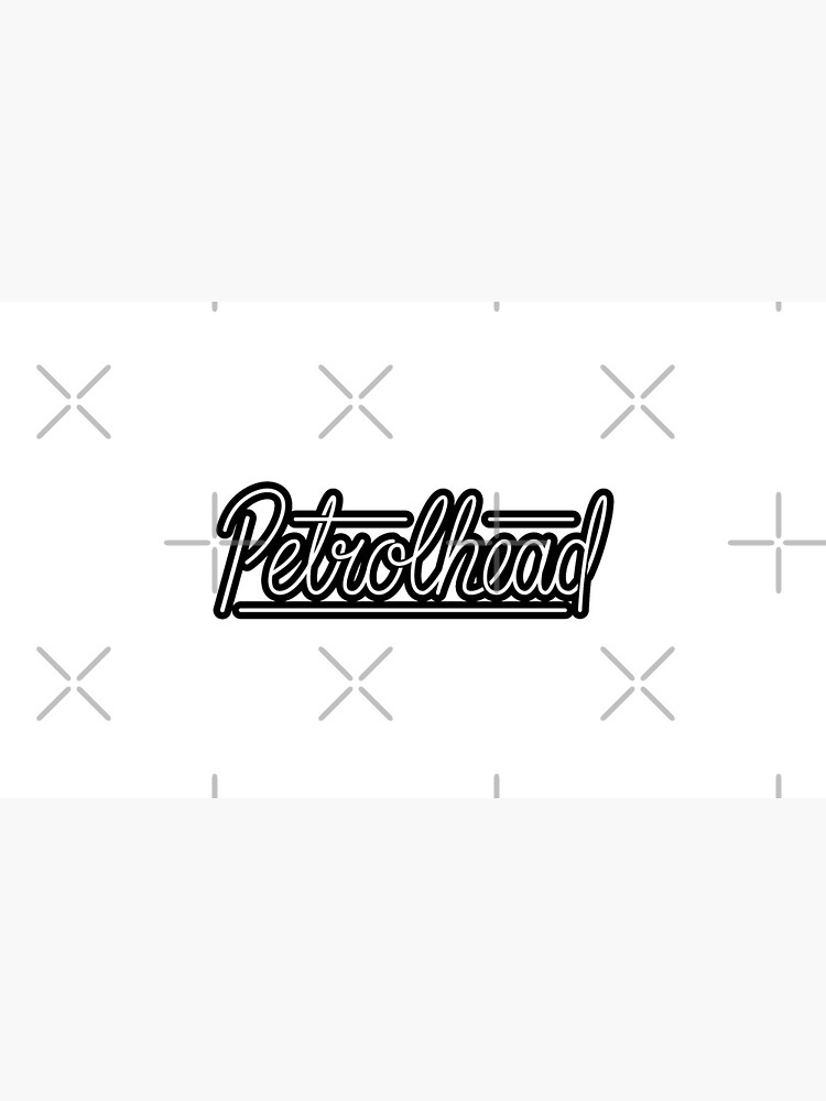 Letras de petrolhead de Qwerty-Designs