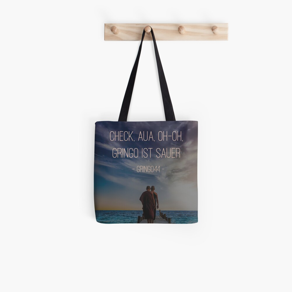 Gringo is angry Tote Bag