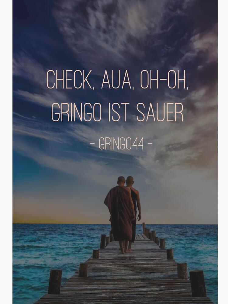 Gringo is angry by deutschraplyrik