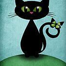 Love me , love my cat by Melanie Moor