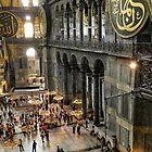 Hagia Sophia, Istanbul. Turkey by hans peðer Alfreð Olsen