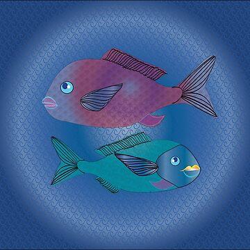 Fish Sama Canary Island by shimaart