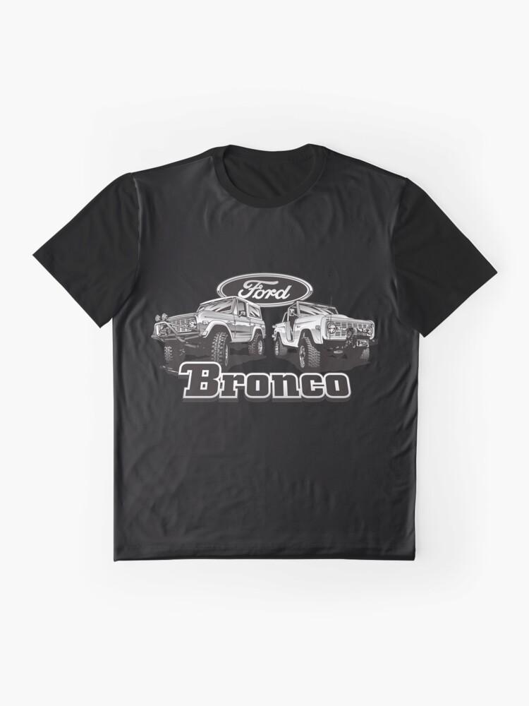 Alternative Ansicht von Bronco II Grafik T-Shirt