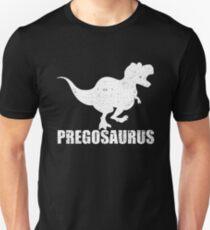 feac4c1c6b2f4 Pregosaurus Pregnant Dinosaur T Rex Baby Family Mom Slim Fit T-Shirt