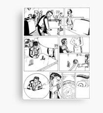 HSC Major Work Comic page 1 Metal Print