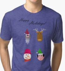 Happy Holidays!! Tri-blend T-Shirt