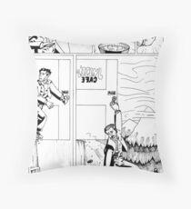 HSC Major Work Comic page 3 Throw Pillow