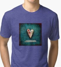 Beauty is not in the face Tri-blend T-Shirt