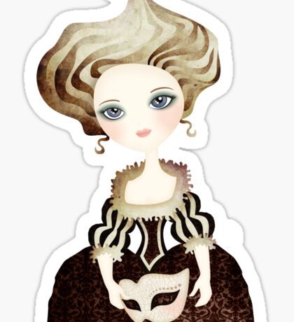 Madame Cupcake Sticker
