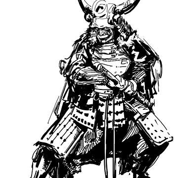 Demon Samurai by SN1P3R