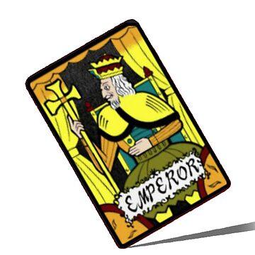 Kaiji Tonegawa Emperor Card by MaginStudios