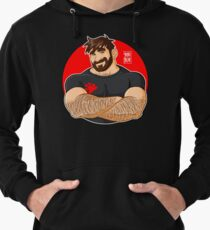 ADAM LIKES CROSSING ARMS Lightweight Hoodie