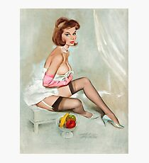 Fritz Willis Pin Up Kunst Fotodruck