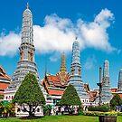 Grand Palace Bangkok. by bulljup