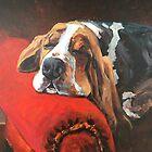 Let Sleeping Dogs Lie by Susan Elizabeth Jones