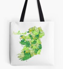 Watercolor Countries - Ireland Tote Bag