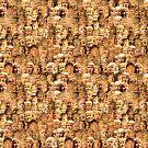 Mega-Trump-Collage von pornflakes