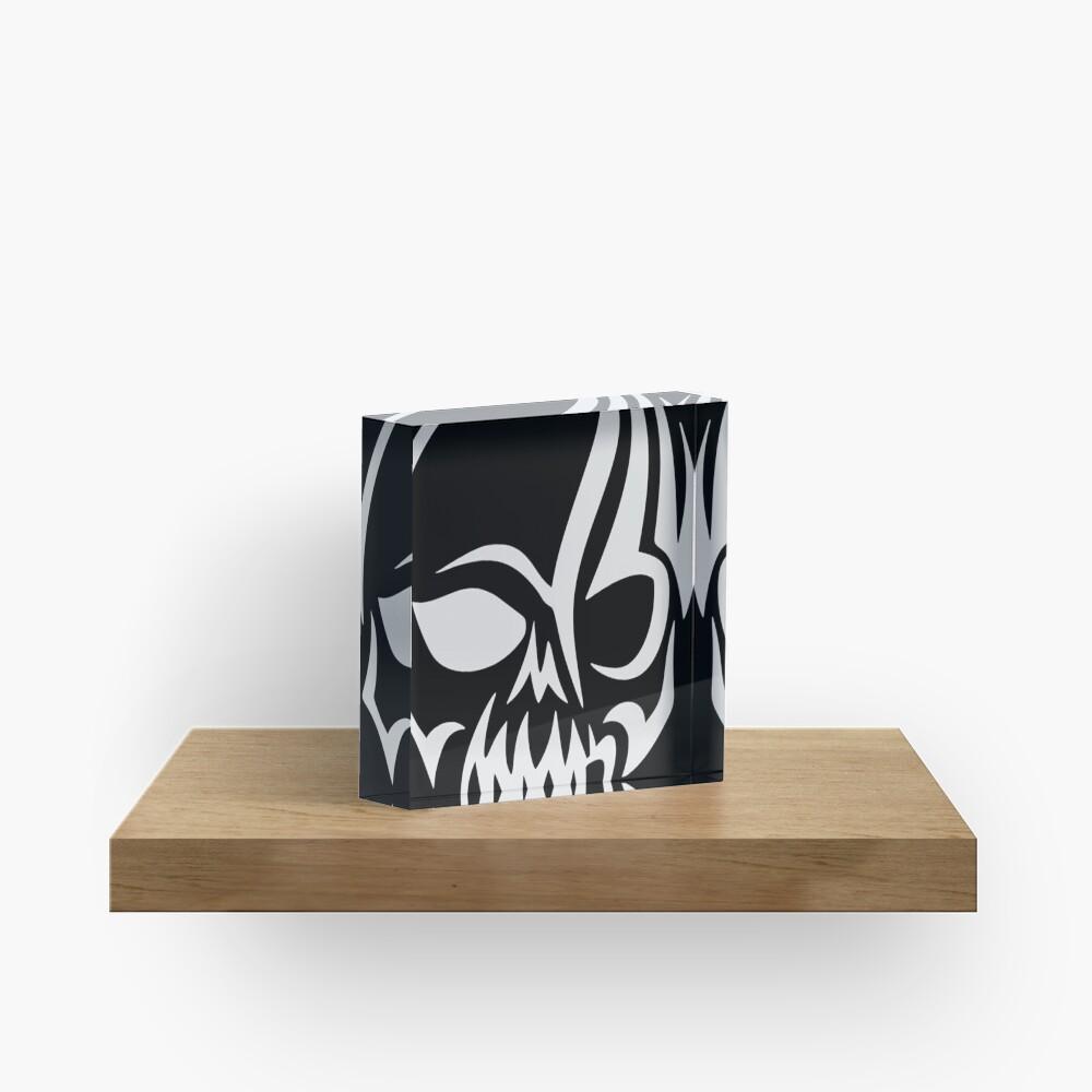 Skull - Day of the Dead Acrylblock
