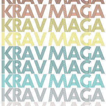 KRAV MAGA RETRO by 4tomic