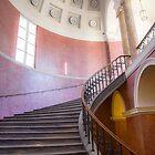 Germany. Munich. Rezidenz. Staircase. by vadim19