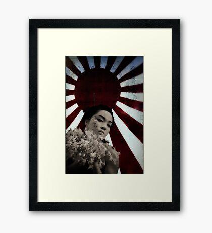 Divine Wind Framed Print