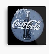 The Coca Cola Magic of Winter Metal Print