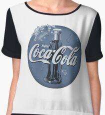 The Coca Cola Magic of Winter Chiffon Top