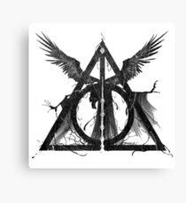 Trinity noir  Canvas Print