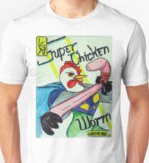 Super Chicken vs Worm T-Shirt