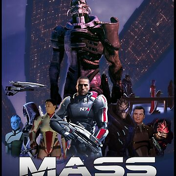Mass Effect 1! The fight begins by Keyur44