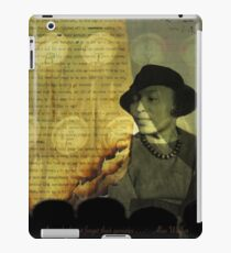 From The Fire: Zora Neale Hurston iPad Case/Skin
