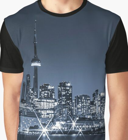 Toronto Skyline 2 Graphic T-Shirt