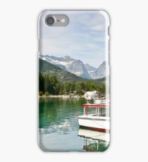 Waterton Lakes Boat Tour iPhone Case/Skin