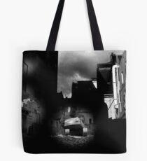 building destruction Tote Bag