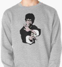 Sudadera cerrada Bruce Lee en su famoso Kung-Fu Jet Kune Do Pose, ilustraciones, camisetas, estampados, pósters, bolsos, hombres, mujeres, niños