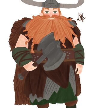 Stoick the Vast fanart by liajung