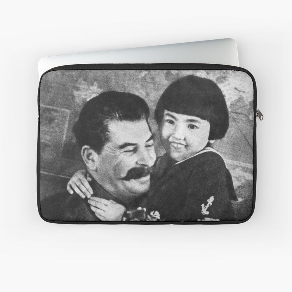Stalins cult of personality #Сталин #ИосифВиссарионович #Ежов #Берия #Жданов #Молотов #Ленин #ГУЛАГ #Нориллаг #Культличности #репрессии #депортация #тюрьма #казнь #политзаключенный #Stalin Laptop Sleeve