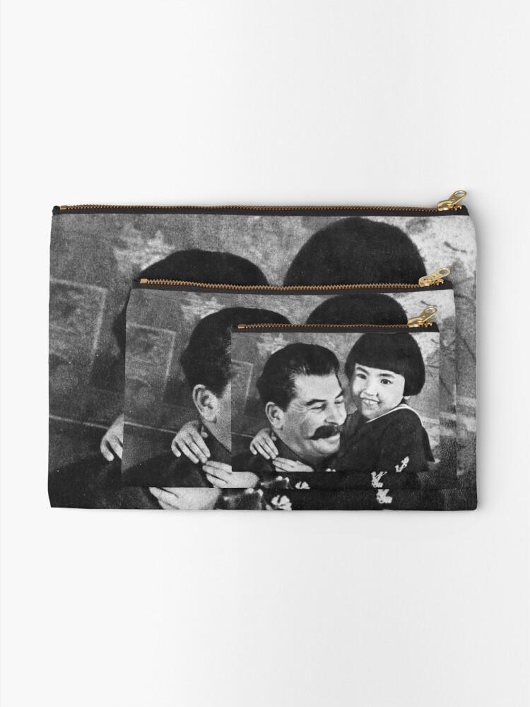Alternate view of Stalins cult of personality #Сталин #ИосифВиссарионович #Ежов #Берия #Жданов #Молотов #Ленин #ГУЛАГ #Нориллаг #Культличности #репрессии #депортация #тюрьма #казнь #политзаключенный #Stalin Zipper Pouch