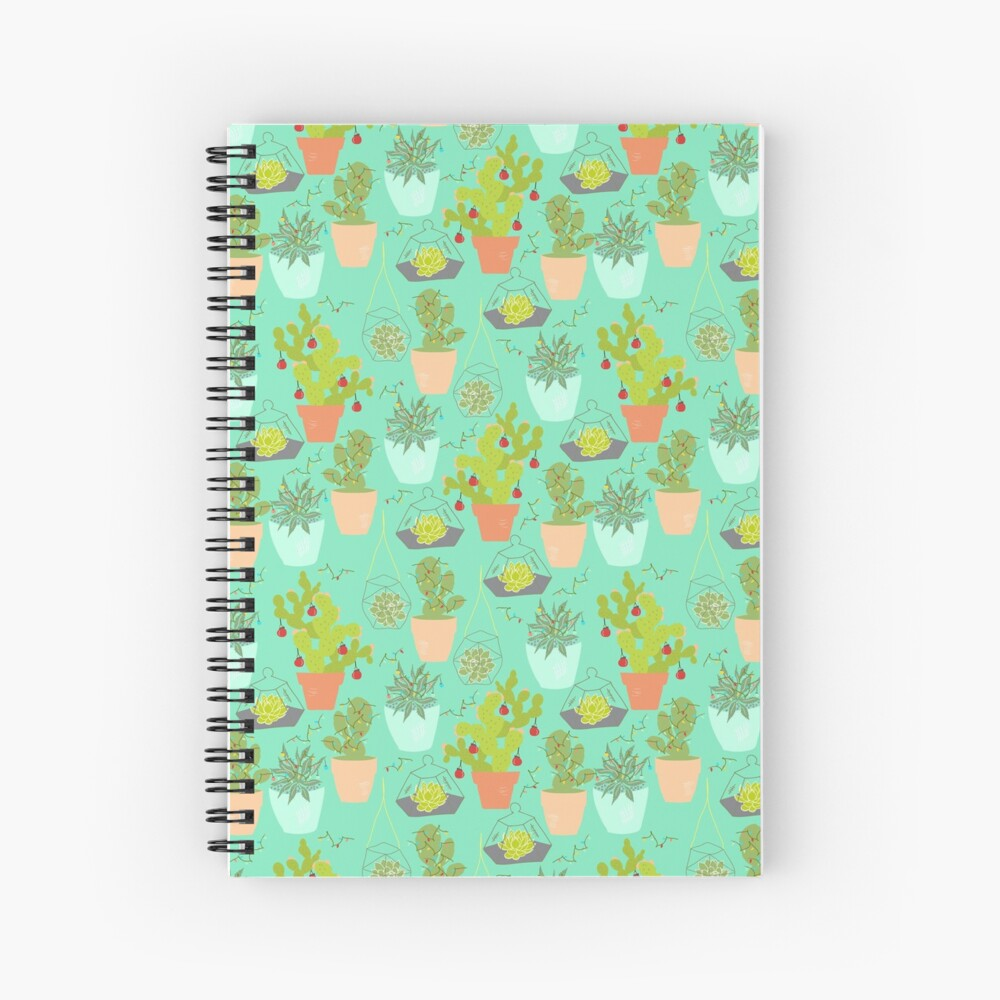 Christmas Succa Spiral Notebook