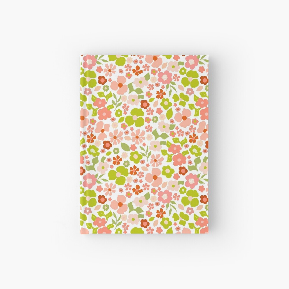 Christmas Florals Hardcover Journal
