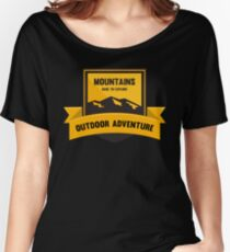 Mountains Dare to explore T-shirt Women's Relaxed Fit T-Shirt