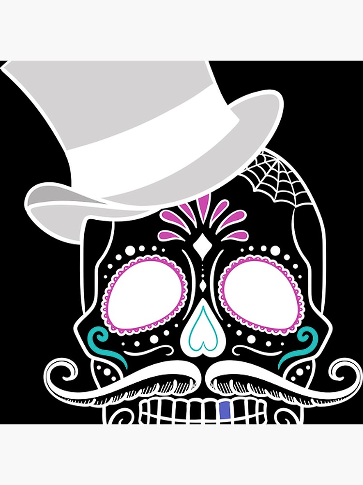 Skull - Day of the Dead von DeezShirtz24