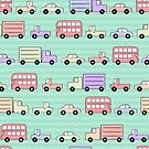 Cars Trucks and Buses  by Pamela Maxwell