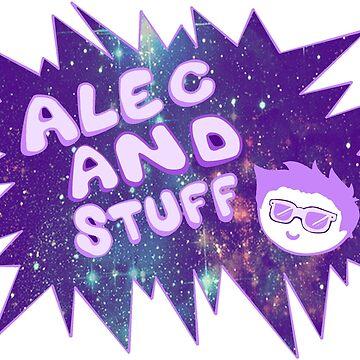 New alecandstuff Logo (Galaxies) by alecandstuff