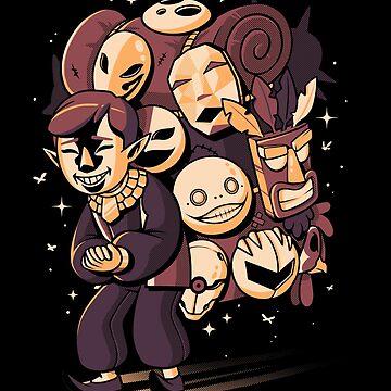 Happy Spooky Salesman by ilustrata
