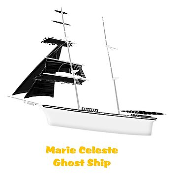 Marie Celeste Ghost Ship 1872 T-shirt by ZipaC