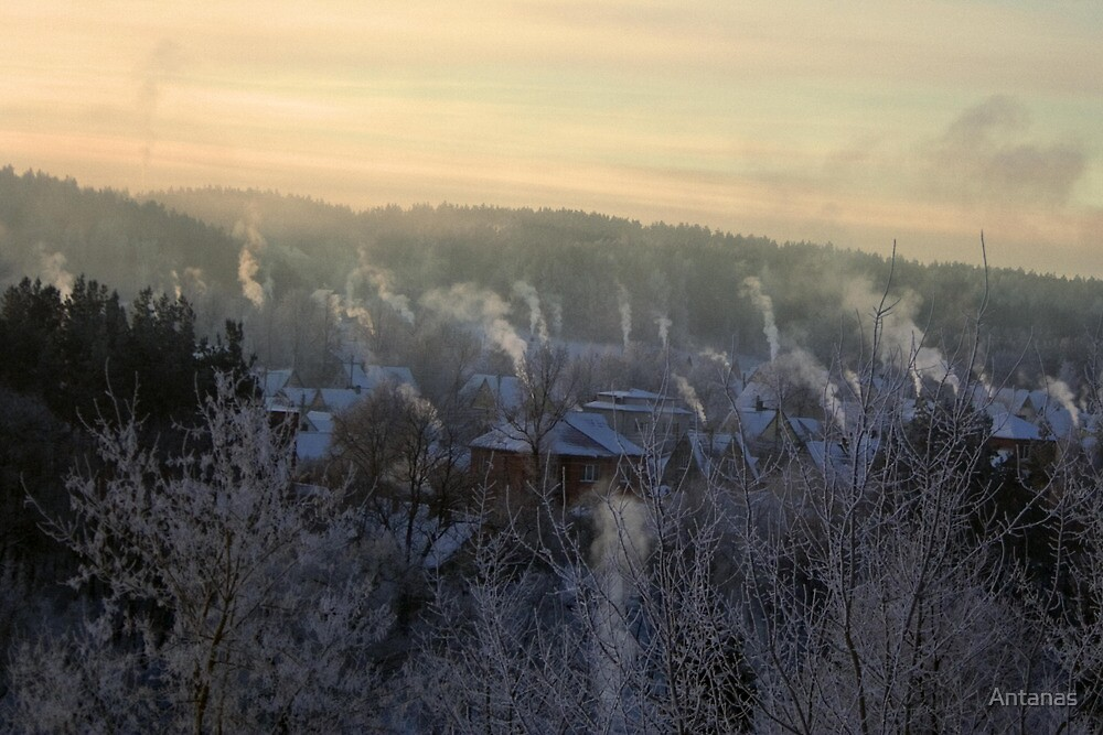 chimneys by Antanas