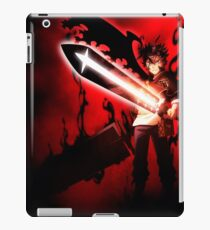 Black Clover Antler iPad Case/Skin